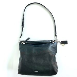 Coach Large Slouchy Hobo Bag Black Leather